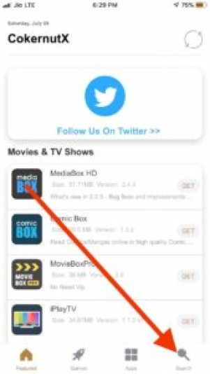 Search filza iOS 12 no jailbreak