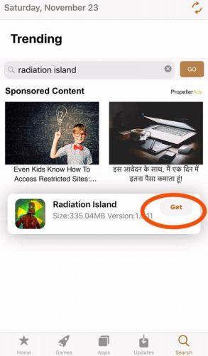 Radiation Island free iOS