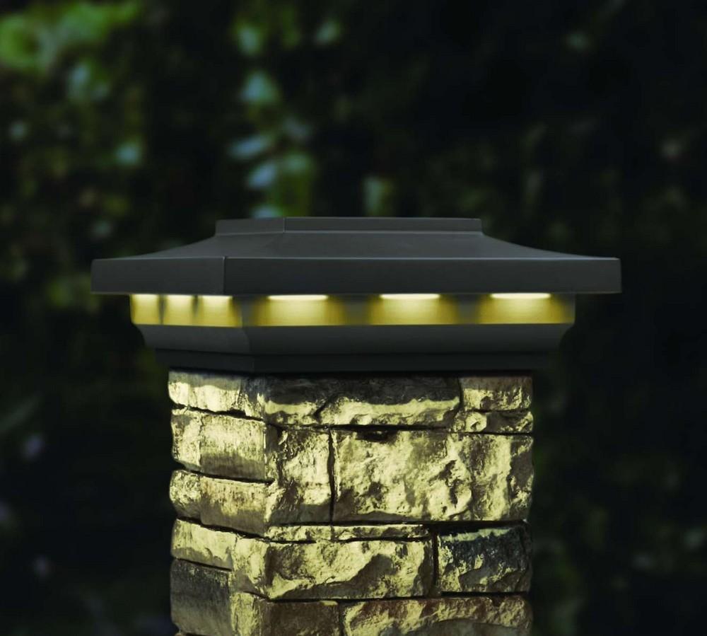 Solar Column Lights