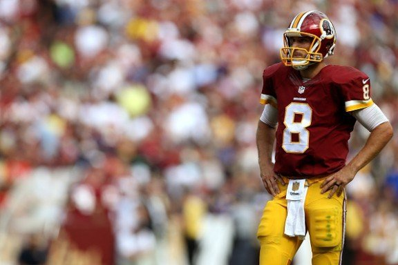 Kirk Cousins of the Washington Redskins