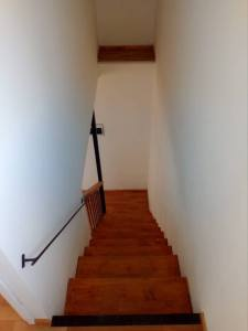 Valdivia Chile Real Estate - Top of Stairway of House in Pino Huacho 1 - Near Niebla and Valdivia