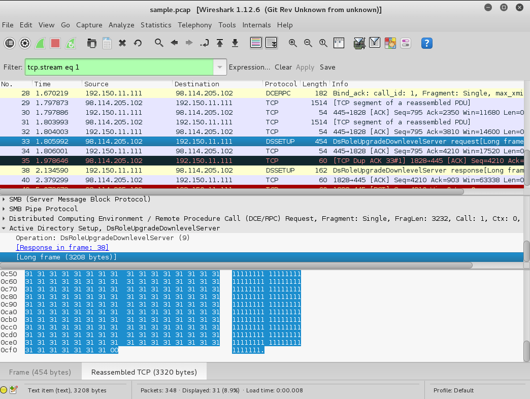 Pcap Wireshark