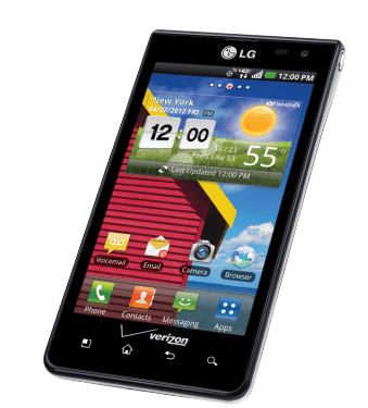 Verizon LG Lucid ICS Update