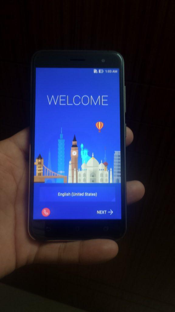ZenFone 3 display