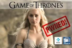 Watch Game of Thrones Season 6 Free Online With Kodi