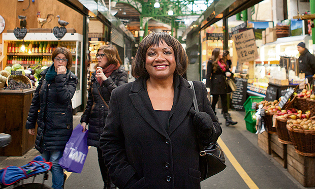 Calling for more new homes: Diane Abbott MP