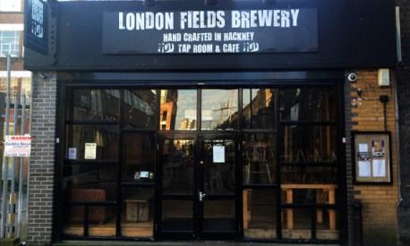 London Fields Brewery. Photograph: Hackney Citizen