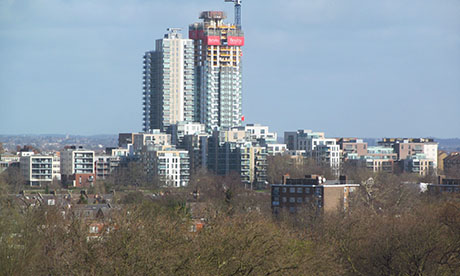 Woodberry Down Estate. Photograph: David Holt (Creative Commons)