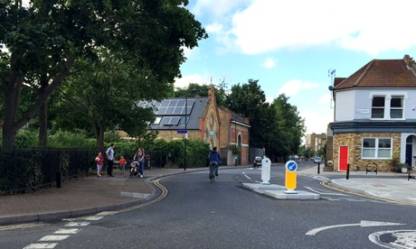 Wordsworth Road and Cowper Road junction