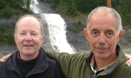 Earth, bound: Client Earth's authors James Thornton (l) & Martin Goodman (r). Images: Scribe Publications