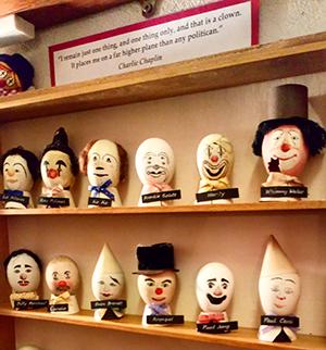 Clown eggs