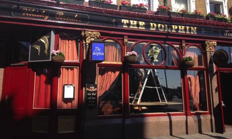 The Dolphin in Mare Street. Photograph: Ella Jessel