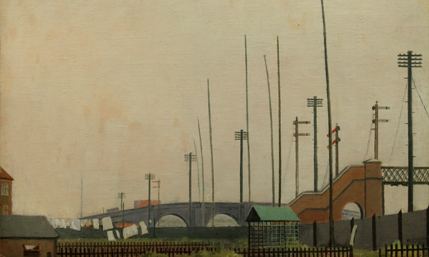 Walter Steggles, The Railway Fence (1929)