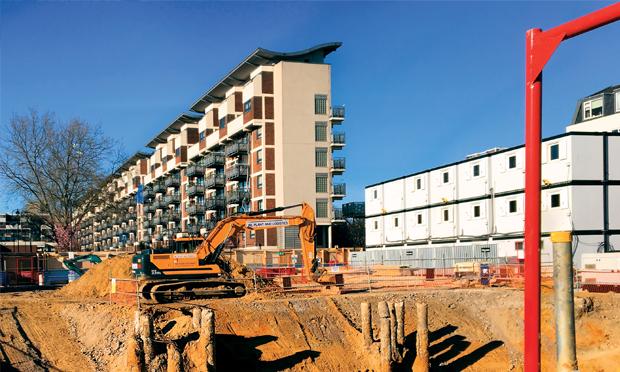 Downsview's demolition site