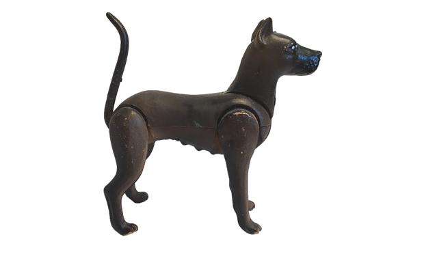 Top dog: a found object from the school