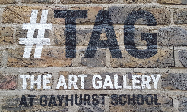 Hashtag art: Gayhurst's #TAG is Hackney's newest gallery. Photographs: Gayhurst Community School