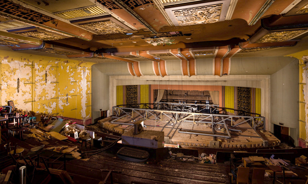 The art deco main theatre space of the former cinema. Photograph: Hackney Arts Centre