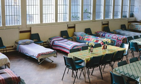 Hackney Winter Night Shelter ready for guests. (Photograph: Paul Driver)