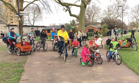 Hackney Family Cycling group