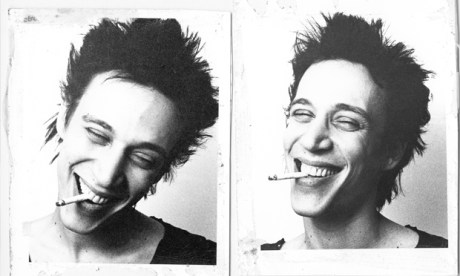 Richard Hell, of The Voidoids and founding member of Television, was one of Gorton's smilier subjects. Photograph: Julia Gorton