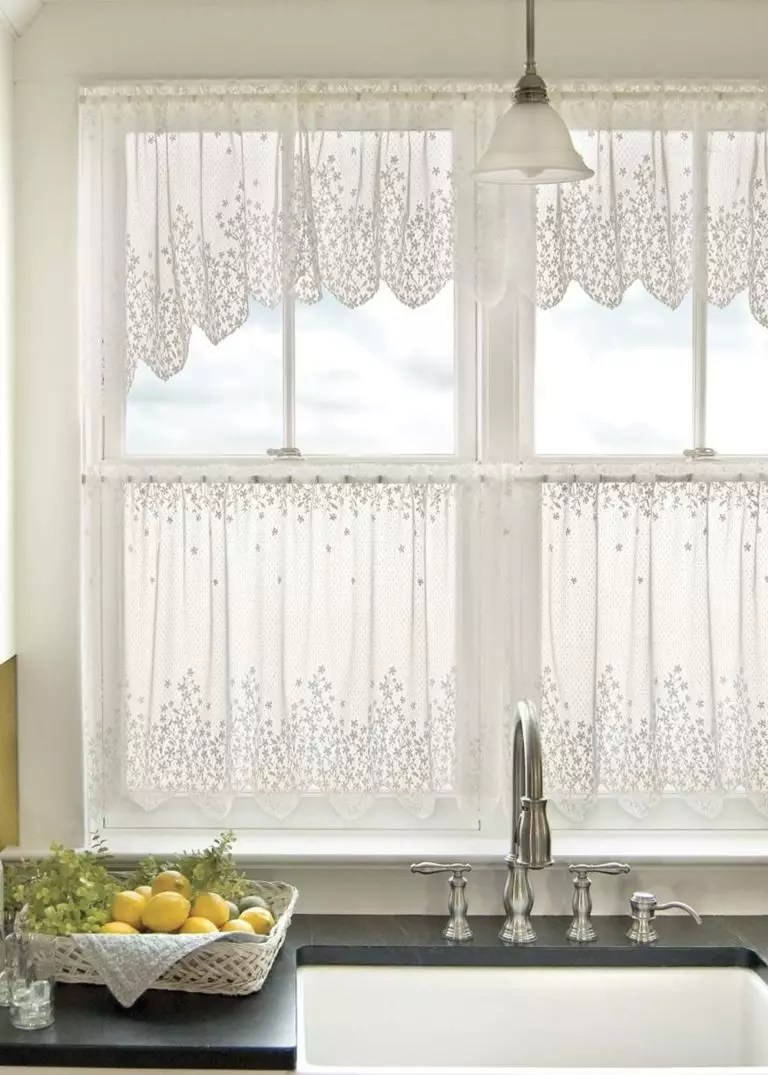curtains in the kitchen design tips