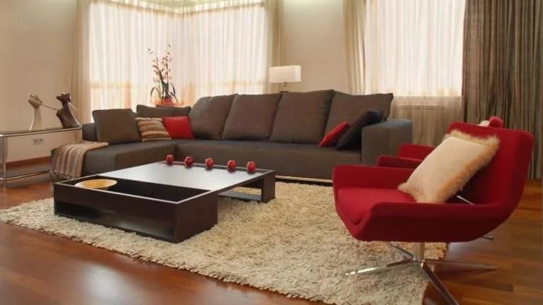 salon rouge combine avec d autres couleurs