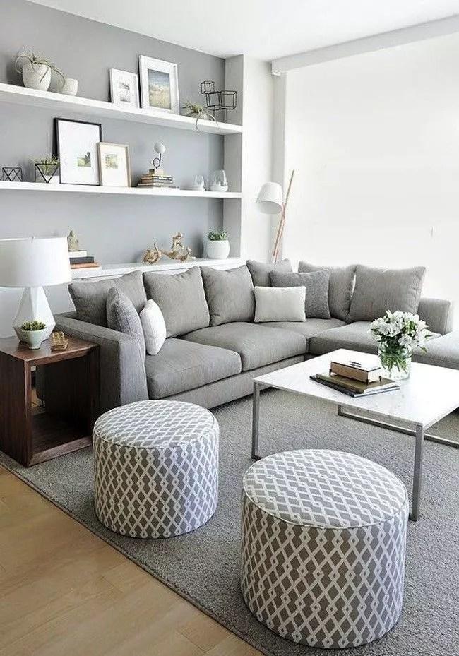 salon gris et blanc caracteristiques