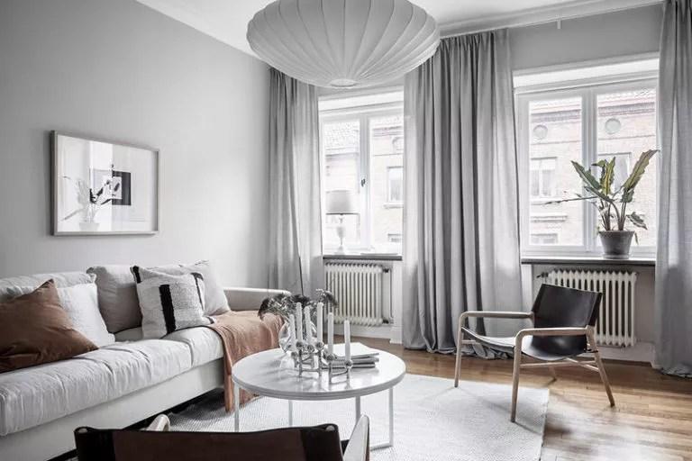 idee per l'arredamento del soggiorno: Come Scegliere Le Tende Per Il Soggiorno Salotto 50 Idee