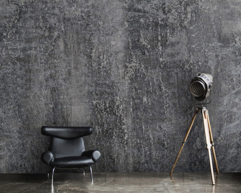 papier peint style industriel loft