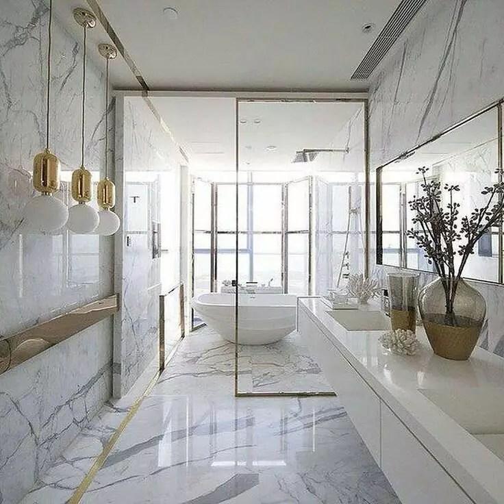 salle de bain en marbre types