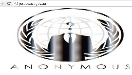 Justice and Community Safety Directorate Australia website