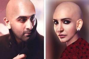 Anushka Sharma Bald Look in Ae Dil Hai Mushkil. Headshave!