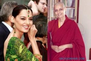 Actress and Model Barkha Madan Headshave to be a Nun