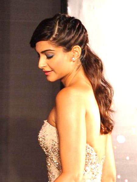 Sonam Kapoor Face Shave - Hairstyle