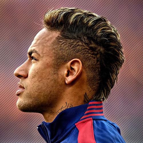 Neymar Hairstyle cool neymar jrs blonde locks Mohawk Neymar Mohawk Highlights