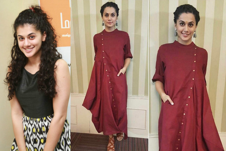 Taapsee Hairline