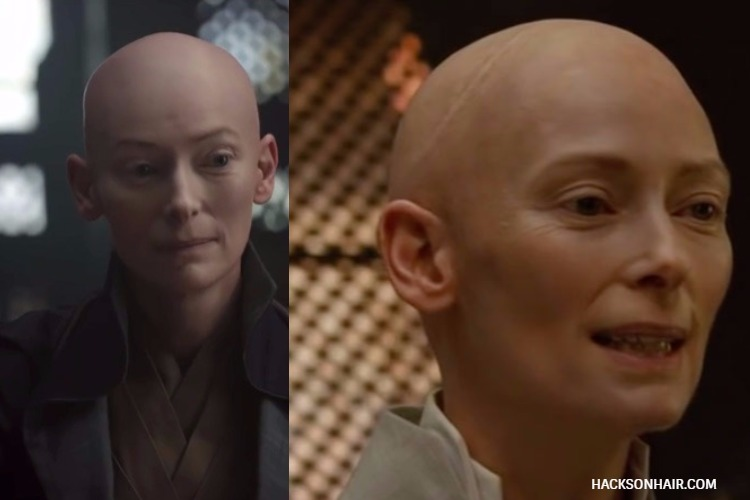 Tilda Swinton Shaves Head