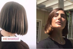 Nargis Fakhri Haircut is one stunning bob hairstyle for summer 🔥