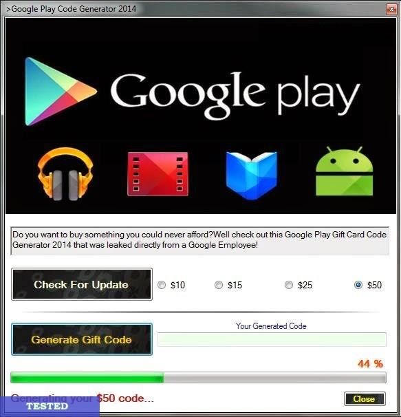 GOOGLE PLAY GIFT CARD CODE GENERATOR 2020 Download Cheats. Hacks. Keygens. Tutorials