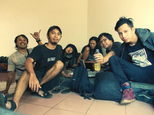 lifepatch members for geekfest 2012 in bandung indonesia