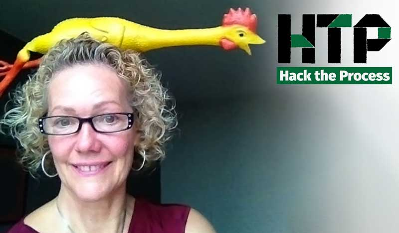 Getting Scrappy About Your Projects with Kimberly Wiefling on Hack the Process Podcast, Episode 22