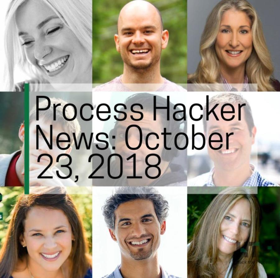 2018-10-23 Process Hacker News – Magic Moments, Odd Jobs, Writing Tools, and More