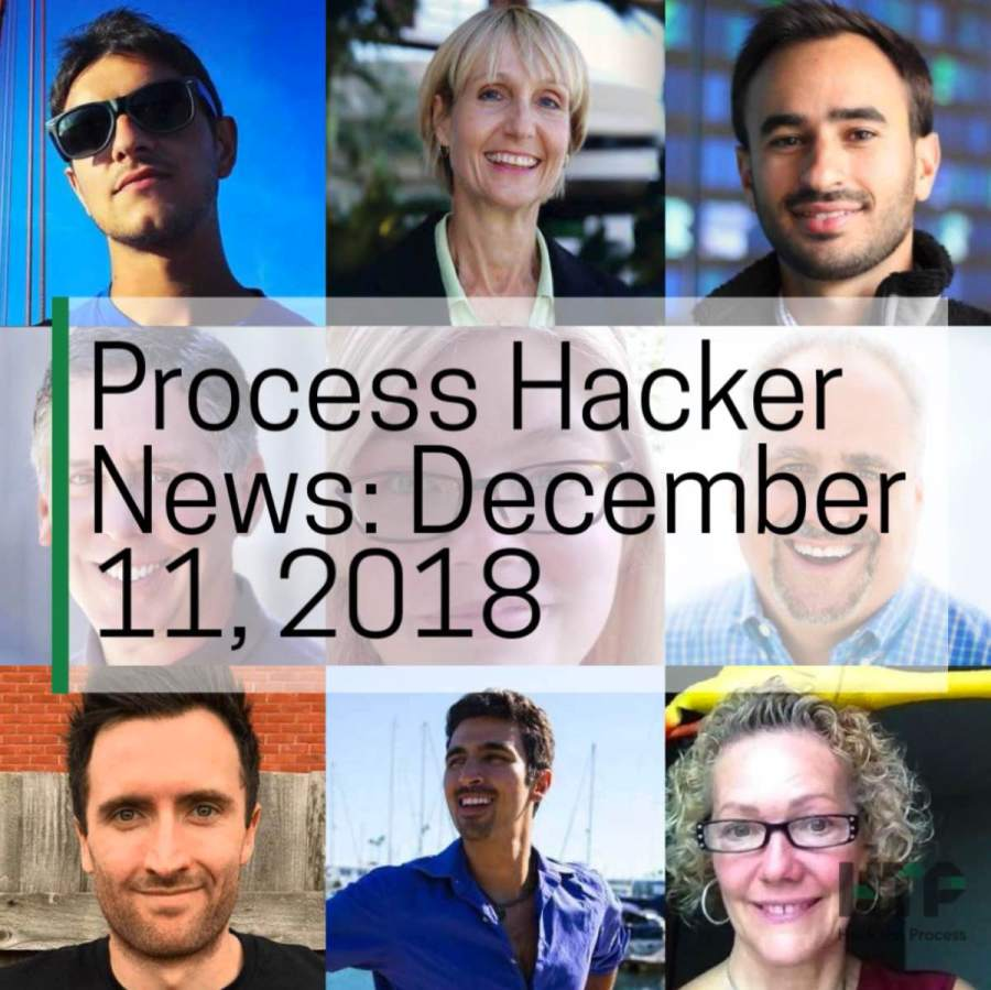2018-12-11 Process Hacker News – Interim Executives, Poetry Agents, Content Curation, and More