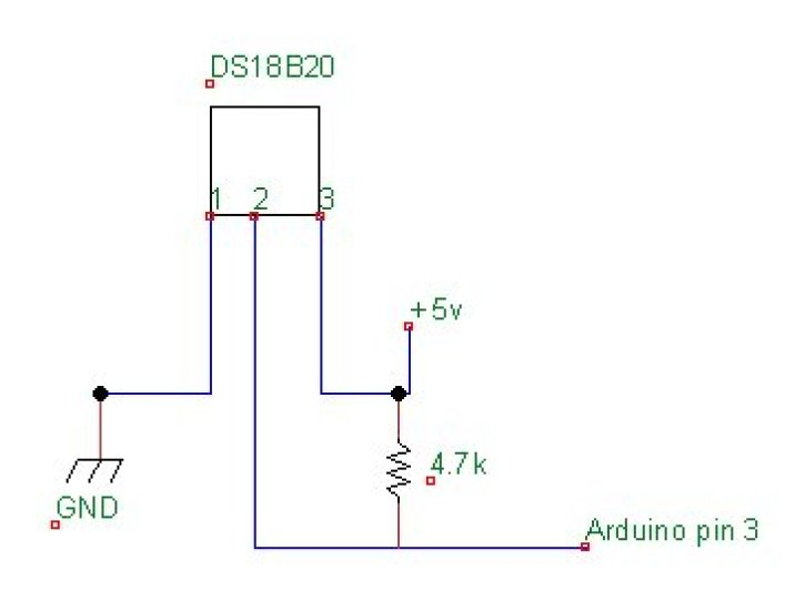 conexão DS18B20 arduino
