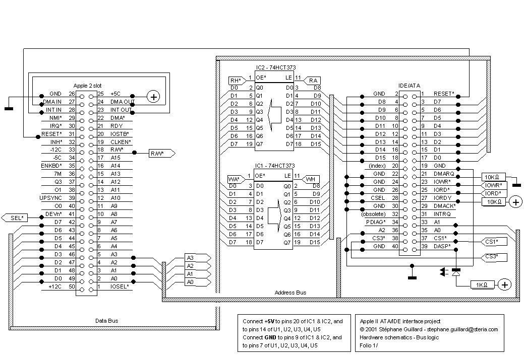 Apple II IDE / ATA interface