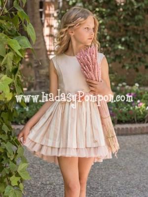 Vestido Rosa Empolvado