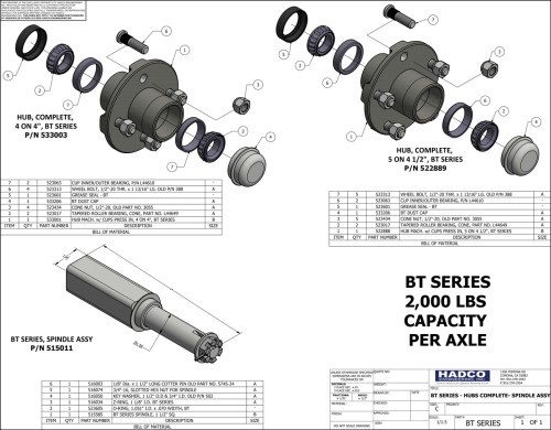 small resolution of bt series hubs