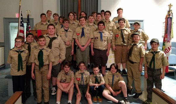 Haddam Welcomes Girls to Scouting, BSA