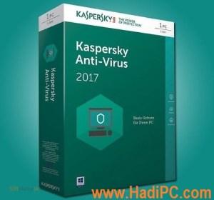 Kaspersky Antivirus 2017 Key