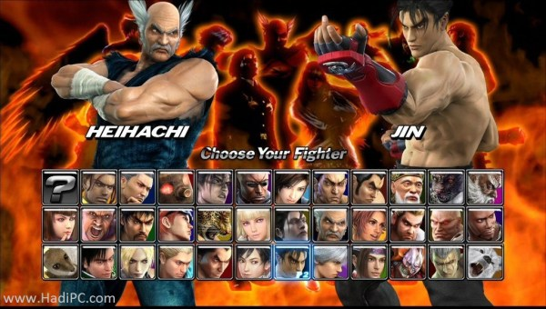 Tekken 5 PC Game Download For Windows